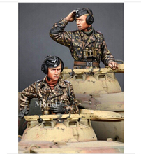 Scale Models 1 35 WW2 German Panther armored force duo WWII Resin Model Free Shipping