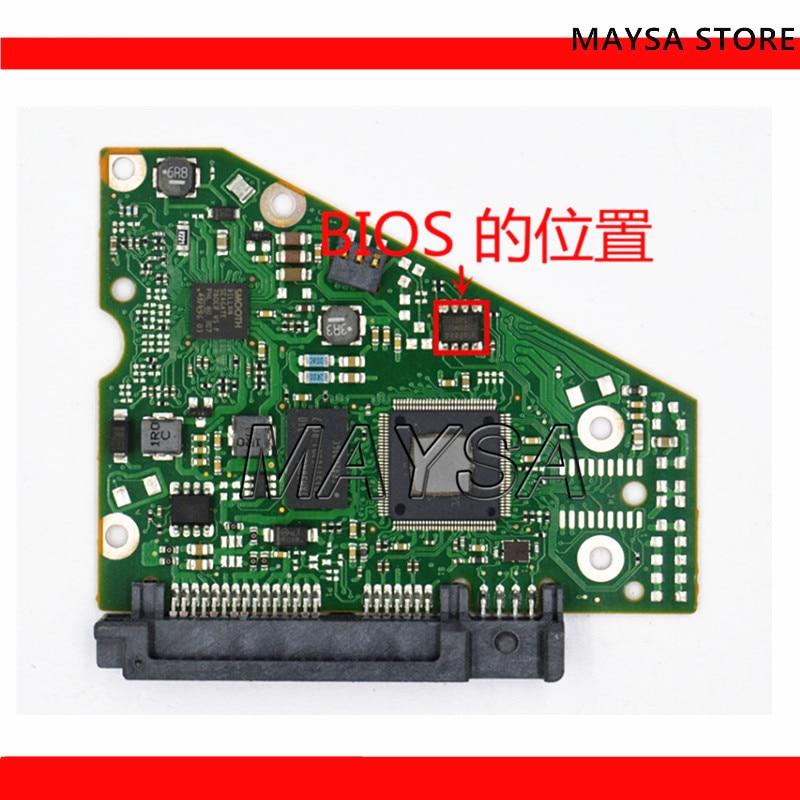 HDD PCB Logic Board / 100710248 REV B , 100710248 REV C / 3164 , 0247 , ST4000DM000 , ST4000VN000