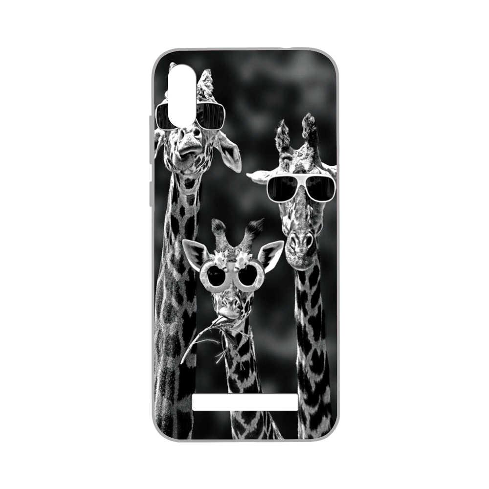 Gucoon Silicone Cover untuk Doogee Y8C Y8 N10 Y7 Case Pelindung Lembut Tpu Telepon Kembali Casing Bumper Shell