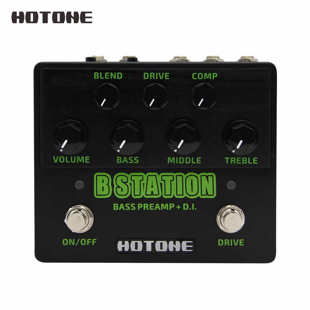 Hotone العلامة التجارية الجديدة B محطة باس Preamp و D.I. مجموعة واسعة نغمي آثار الغيتار دواسة BD20