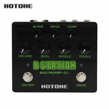 Hotone Brand New B Station Bass Preamp and D.I. Wide Tonal Range Guitar Effects Pedal BD20 - DISCOUNT ITEM  44% OFF All Category