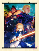Fate/stay Night Fate Zero Saber Home Decor Anime Japanese Poster Wall Scroll J01