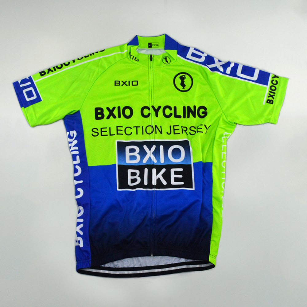 b4284a47 BXIO Short Sleeve Cycling Jersey Shirts Green Raiders Jersey Ciclismo  Camisa De Bike Clothing Size XS 6XL Available 0209G004 J-in Cycling Jerseys  from ...