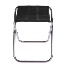 Aluminium Alloy  Oxford cloth Folding Camp Fishing Stool Portable Chair for Outdoors 320g