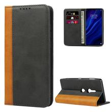 For Xperia XP Luxury Color Leather Wallet Case Book Design with Magnetic Closure Flip Cover for Sony Xperia XP XZS XZ1 XZ2 XZ3 trendy women s satchel with magnetic closure and black color design