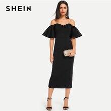 lápis Shein vestidos longo