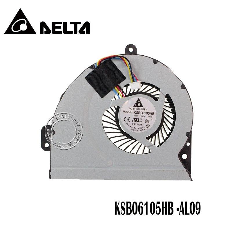 Nouveau Ventilateur De Refroidissement Original Pour ASUS A43 X53S K53S A53S A43S K53SJ X43S X44H K43 X54H X230 Refroidisseur d'ordinateur portable Radiateur De Refroidissement Ventilateur