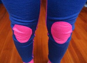 Image 5 - 100% Merino wol thermische kids sport ondergoed set super Zachte winter jongens meisjes kinderen lange onderbroek
