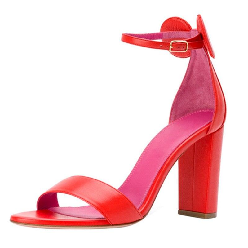 Schöne Frauen Hochzeit knoten strap Black Schuhe Party Heels Qualität Hohe Sandale orange Frau Denim Stiefeletten Sexy High Sommer red blue 2019 Mstacchi Bogen C8zq5wx