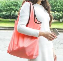 Fashion Supermarket Shopping Bag Foldable Reusable Grocery Bags Durable Travel HandBag Storage Pouch Accessories Supply products