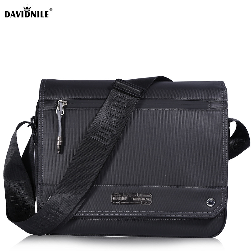 Davidnile Men business briefcases casual black single shoulder bags office travel laptop messenger bag DV9682 fathers day giftDavidnile Men business briefcases casual black single shoulder bags office travel laptop messenger bag DV9682 fathers day gift