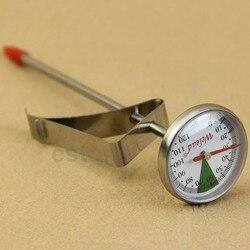 Мгновенное считывание из нержавеющей стали, Кухонный Термометр для приготовления пищи, молока, кофе