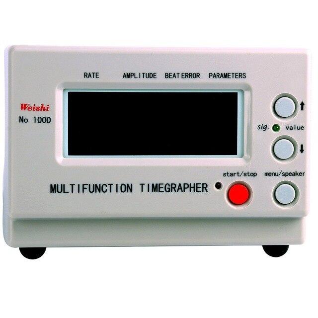 Freies Verschiffen Timegrapher Multifunktions Uhr Timing Maschine Beat Fehler Amplitude Rate CE Lager