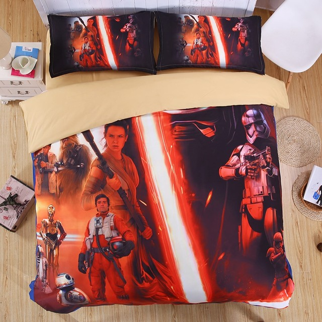 Star Wars 3D Bedding Set – 3 Sizes Available