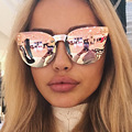 2017 NEW Hot Brand Fashion Medusa Sunglasses Men Women Brand Eyewear Travel UV400 Rose Pink Lady Sunglasses Catwalk Models Style