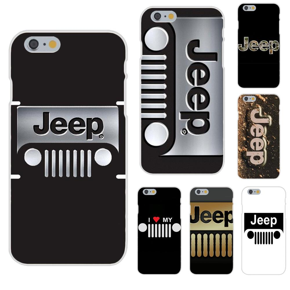 TPU Handy Tasche Auto Jeep <font><b>Logo</b></font> Für Apple <font><b>iPhone</b></font> 4 4 S 5 5C 5 S SE 6 6 S 7 8 Plus X XS Max XR image