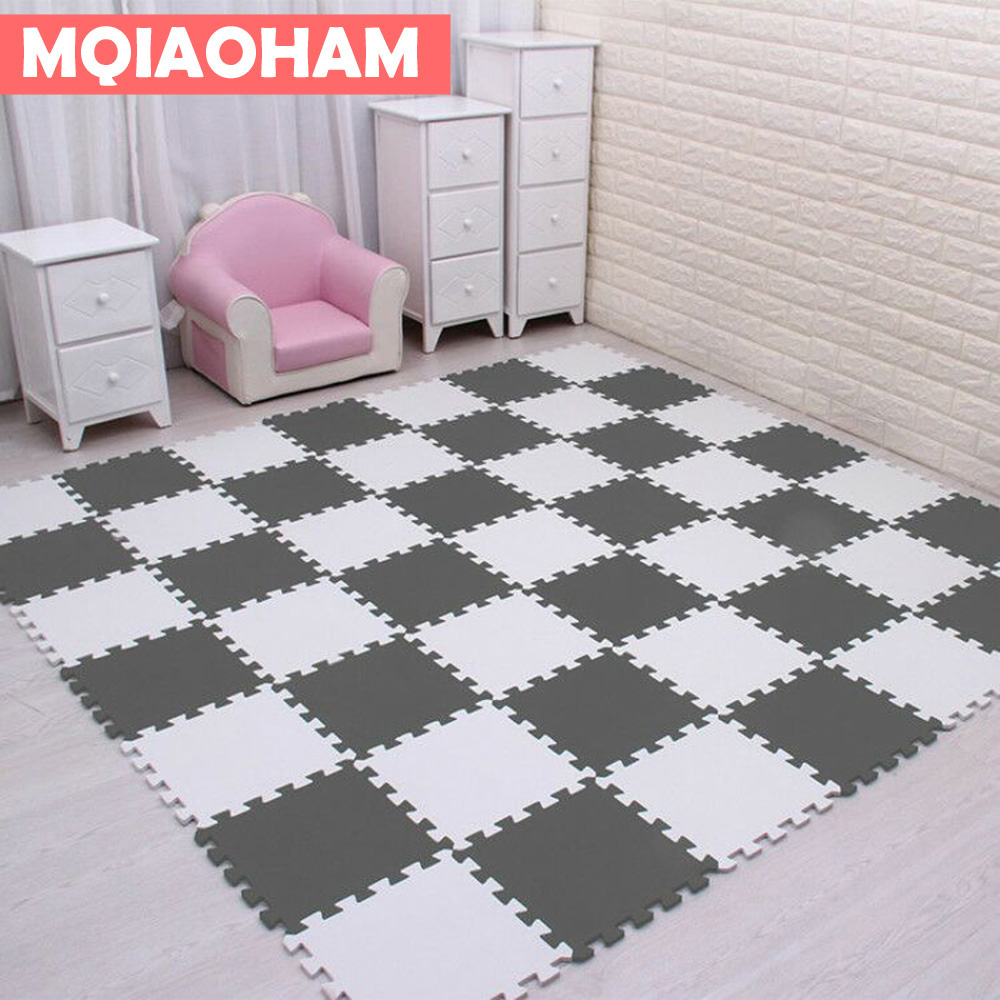 Hot Sale EVA Children's Foam Carpet Mosaic Floor Developing Crawling Rugs 9pcs/set Puzzle Carpet Baby Play Mat Floor Puzzle Mat