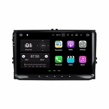 Android 7.1 Quad Core 9″ Car radio dvd GPS Head Unit for VW Volkswagen Passat Tiguan Touran Caddy Magotan Skoda Seat Polo Golf