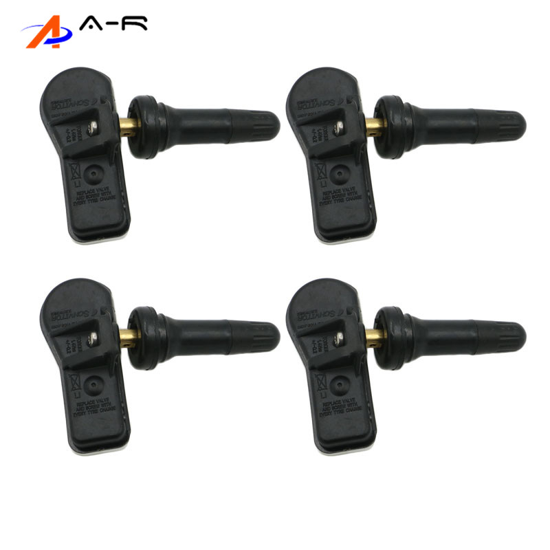 4PCS Tire Pressure Monitoring Sensor 52933 C1100 52933C1100 433MHz for Hyundai i20 GB Coupe ix35 Sonata