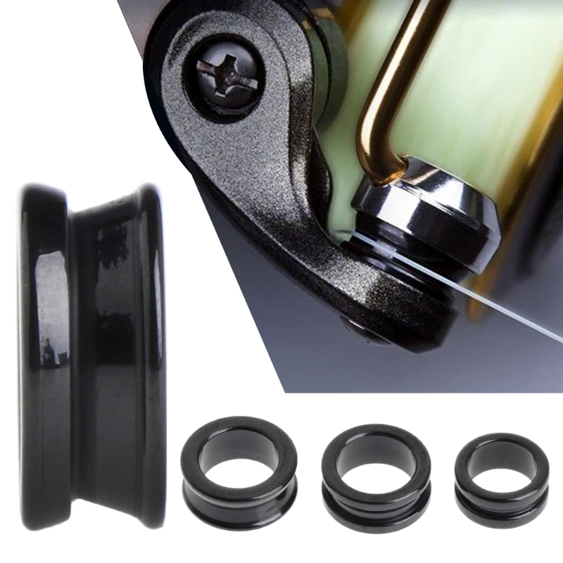 OOTDTY Fishing Line Roller Ceramic SIC Great For Spinning Fishing Reel Smooth Accessory Dropshipping