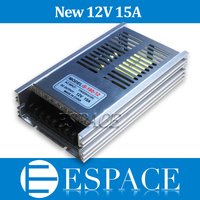 10pcs Lot 2015New 12V 15A 180W Switching Power Supply Driver For LED Strip AC 100 240V