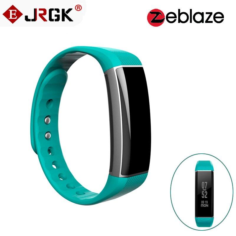 Original Zeblaze ZeBand Bluetooth 4 0 Smart Wristband Heart Rate Monitor Smart Bracelet With 15m Bluetooth