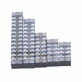 Bornier de distribution à vis double rangée 4 6 8 10 12 positions 15A