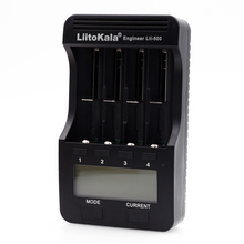 100% Liitokala lii LCD device 500 3.7 18650 26650 18500 cylindrical lithium batteries, 1.2 V AA AAA NiMH battery charger