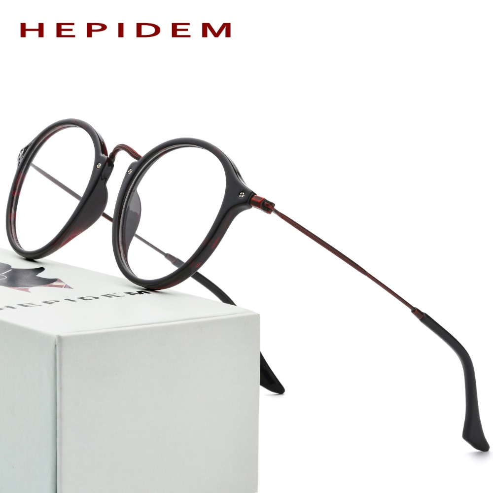Acetate Optical Glasses Frame Women Metal Round Prescription Oliver Eyeglasses Fors Men Peoples High Quality Spectacles Eyewear acetate prescription glasses frame men oliver full round spectacles fors women peoples optical nerd myopia wood grain eyeglasses