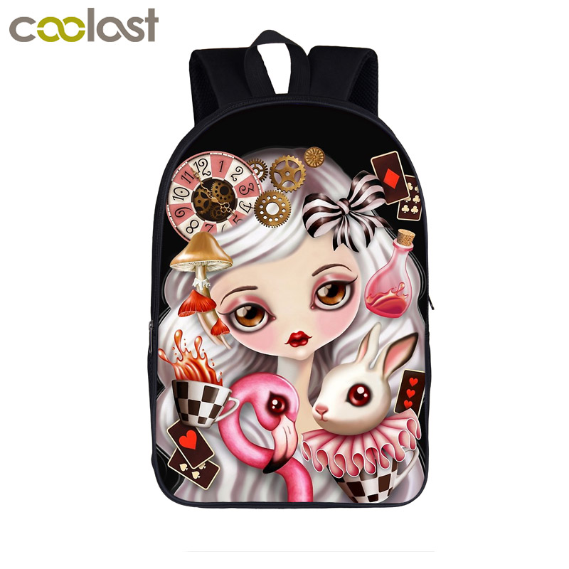 9d135c12f8e Detail Feedback Questions about Gothic Princess   Steampunk Girls Backpack  Teenager Girls school Bags Students Backpack Women Gaily Backpacks Kids  Book Bag ...