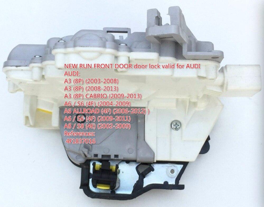 case For Audi A3/S3 A6/S6 C6 A8/S8 R8 RS3 RS6 A4 For Seat Exeo 3R2 ST 3R5 Front Right Door Lock Latch Actuator 4F1837016