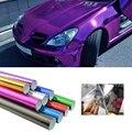 Vehículo Cambia de Color De Fibra de Envoltura de Vinilo Cromado Película Impermeable