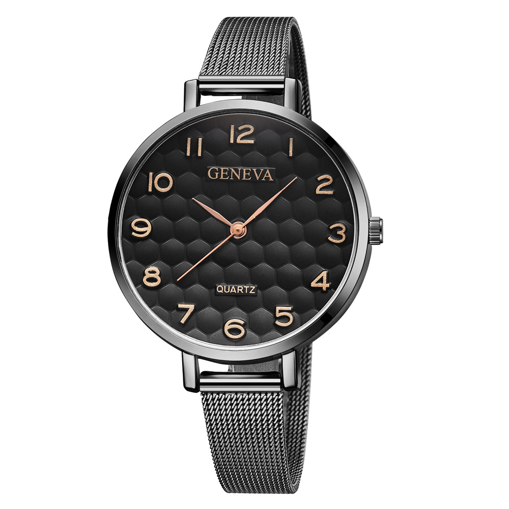 2018 Luxury Women Metal Mesh Watch Simplicity Classic Wrist Fashion Casual Quartz High Quality Women's Watches Relogio Masculino цена