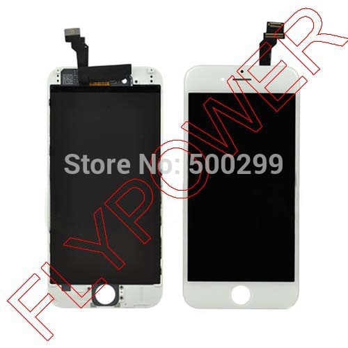 LCD Display For Iphone 6 6g Lcd Digitizer Touch Screen Black or White color mixed by free dhl; 10pcs/lot lcd screen display touch panel digitizer for htc bolt for htc 10 evo white or black color free shipping