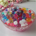 3000pcs/pack Crystal Soil Orbiz Growing Water Balls Water Beads Gel Balls for Potted Plants Decoration Wedding Home Decor