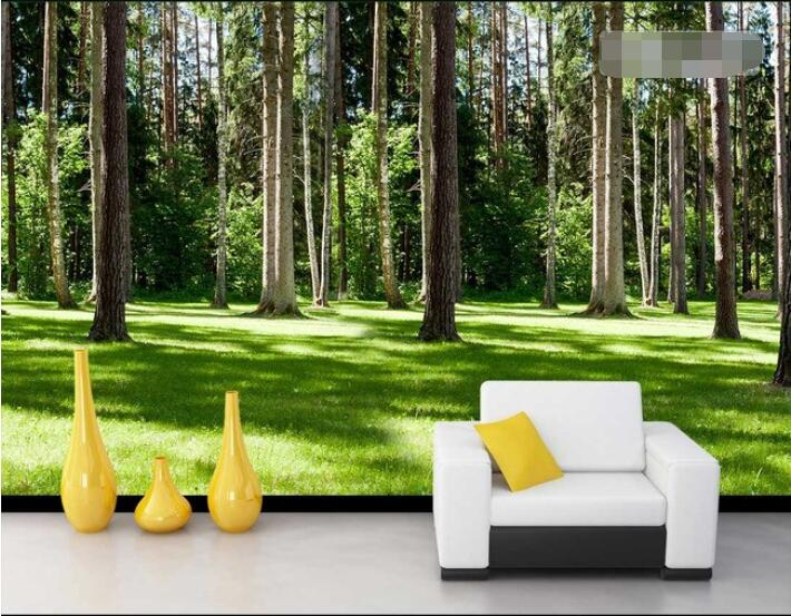Fototapete 3d natur for Holz tapete weiay
