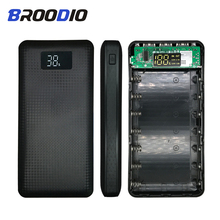 5V Mobile Power Pack 7*18650 Power Bank Case Battery Box Mobile Phone Charger DIY Shell Case 3 USB Output LCD Display For Xiaomi стоимость