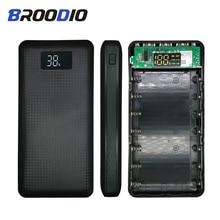 купить 5V Mobile Power Pack 7*18650 Power Bank Case Battery Box Mobile Phone Charger DIY Shell Case 3 USB Output LCD Display For Xiaomi по цене 465.04 рублей