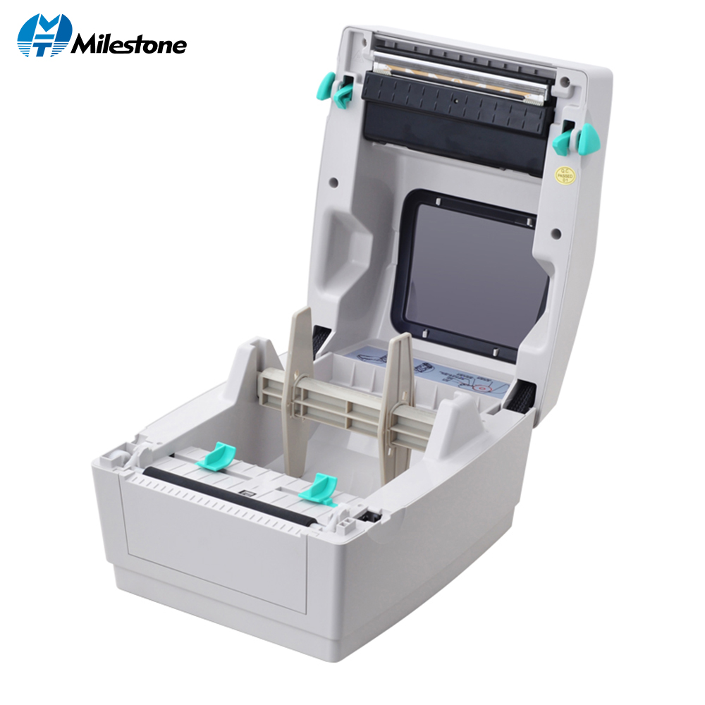 Milestone UPS Label Printer Desktop Barcode Printer 203dpi Label Thermal Transfer Printer For Express Logistics Labeling Machine
