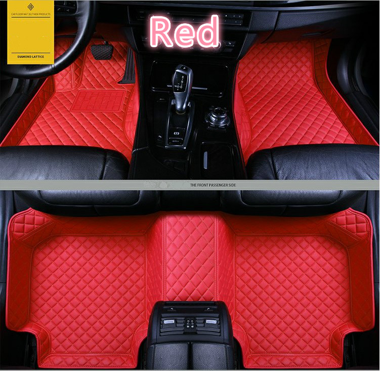 Full Covered Waterproof Carpets Durable Special Car Floor Mats For Renault Duster Fluence Kangoo Koleos Magane Scenic Kadja
