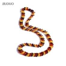 JIUDUO necklace pendant jewelry Women popular natural amber luxury explosion models