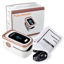 European and American fingertip Blood Oxymetre portable instrument bluetooth battery heart rate detector medical home