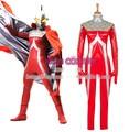 Nueva llegada por encargo Ultraman cuero de la PU buzos Cosplay