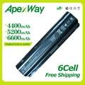 Apexway 11,1 В Батарея для HP Compaq Pavilion G6 G4 G61 G7 DM4 DV3 DV5 DV6 DV7 CQ42 CQ43 CQ62 CQ72 MU06 593553-001 HSTNN-LB0W - фото