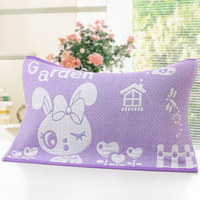 2 Pair PillowCases Standard Size 75x51cm Floral Pillow Sham Protector Jacquard PillowCovers Decorative For Wedding No