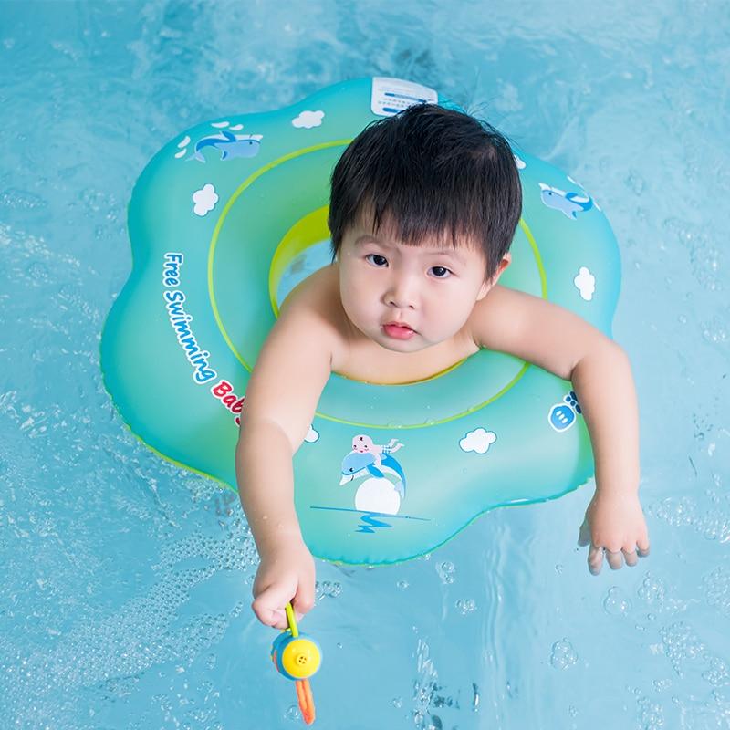 Nuevo bebé anillo de natación niños inflables asiento desmontable - Actividad y equipamiento para niños