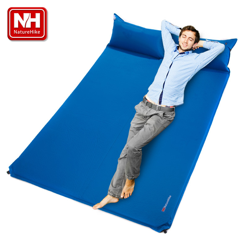 Aliexpress Nh19q005 D Automatic Air Cushion Outdoor Double Camping Mat Moisture Proof Pad Thickening Widened Sleeping From Reliable Padded