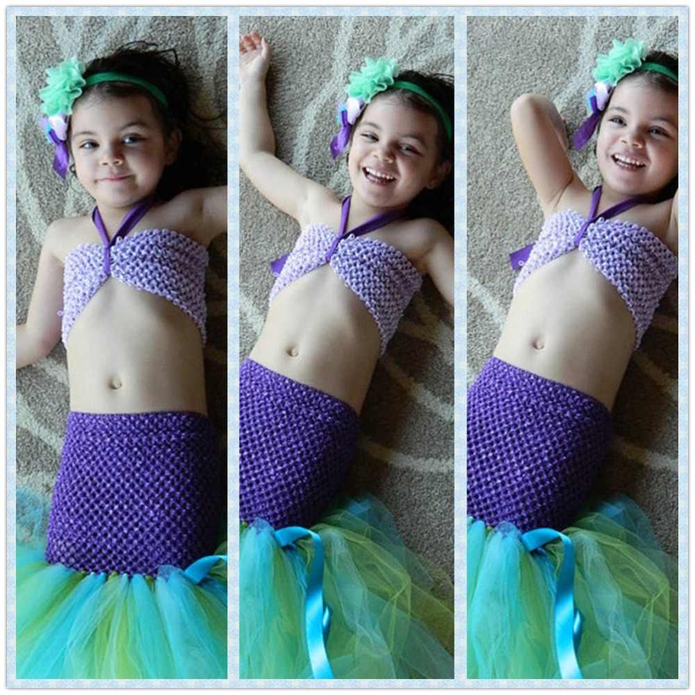 Princesa Tutú La Sirenita Ariel Disfraces Para Niñas