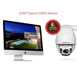 Image 4 - Foscam FI9928P açık PTZ 4x optik Zoom HD 1080P WiFi güvenlik kamerası kablosuz IP kamera ile gece görüş kadar 196ft