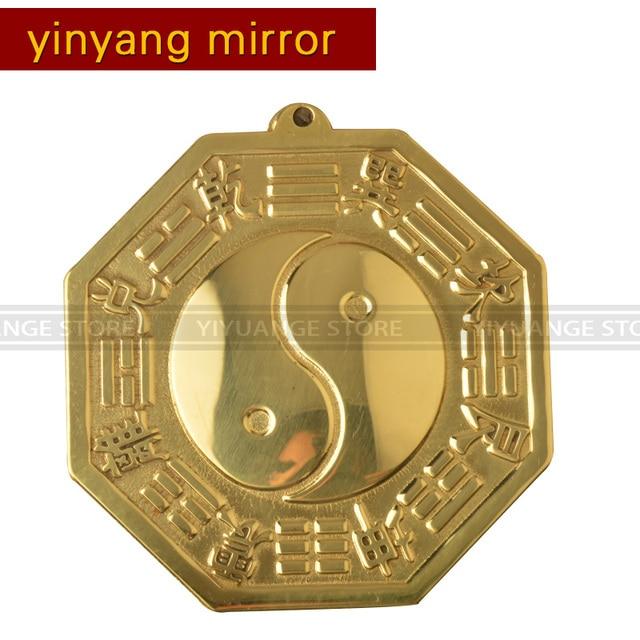 Feng Shui Spiegel 11 cm feng shui concave bolle koper bagua spiegel muur